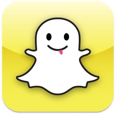 Introducing Snapchat, and its friendly ghost icon.